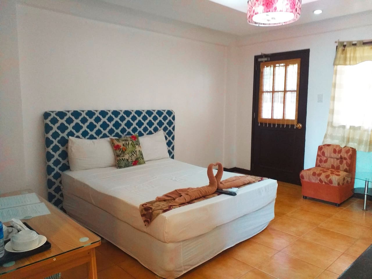 Superior Room with 1  double bed perfect for couple and small families.