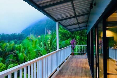 Jungle view new villa room