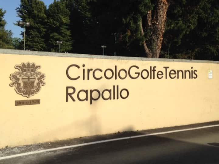 Apartment near Golf and Tennis Club Rapallo