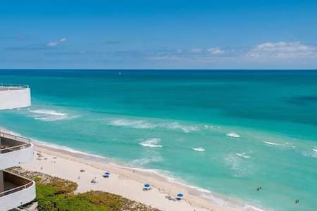 OCEAN VIEW BALCONY 1229 ON THE BEACH W/PARKING - Miami - Apartment