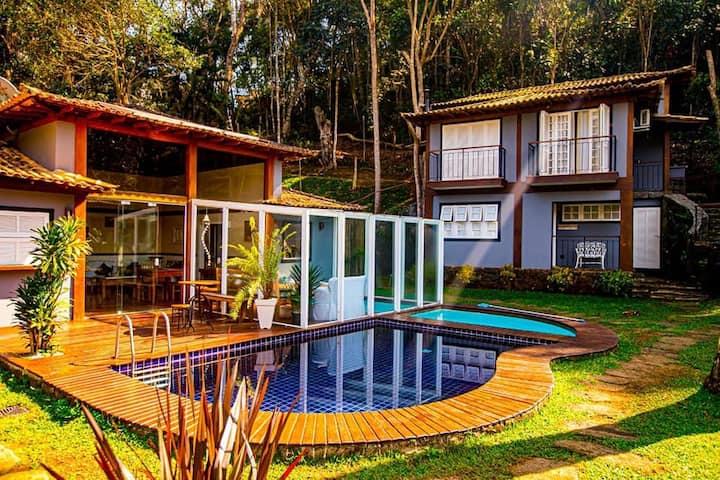 Villa Don - Chalés em Araras - Chalé suíte 6