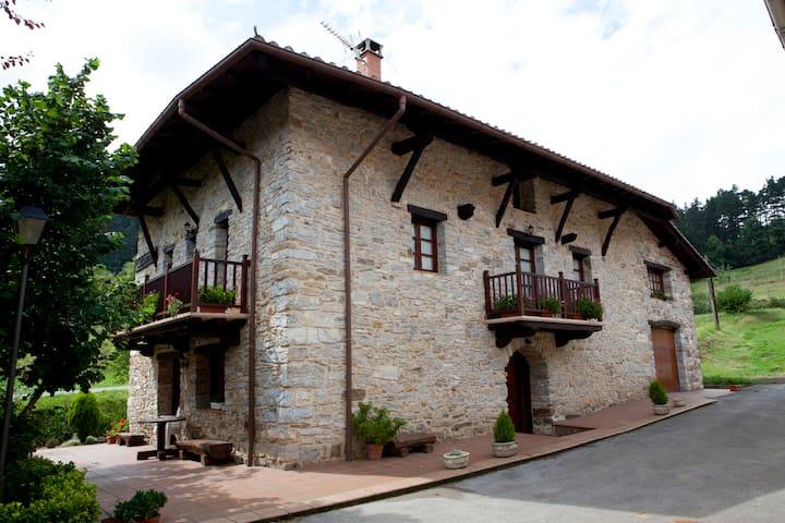 Casa Rural Goikoetxe en Zeanuri