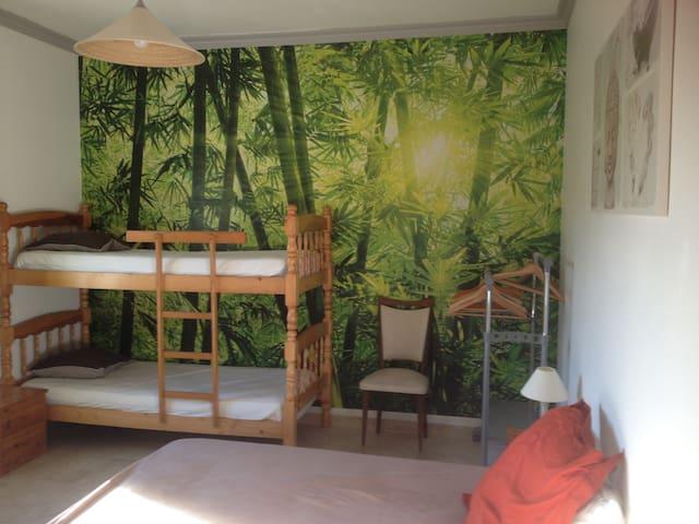 Chambre 16m2+SDB+WC au calme dans villa à Vidauban