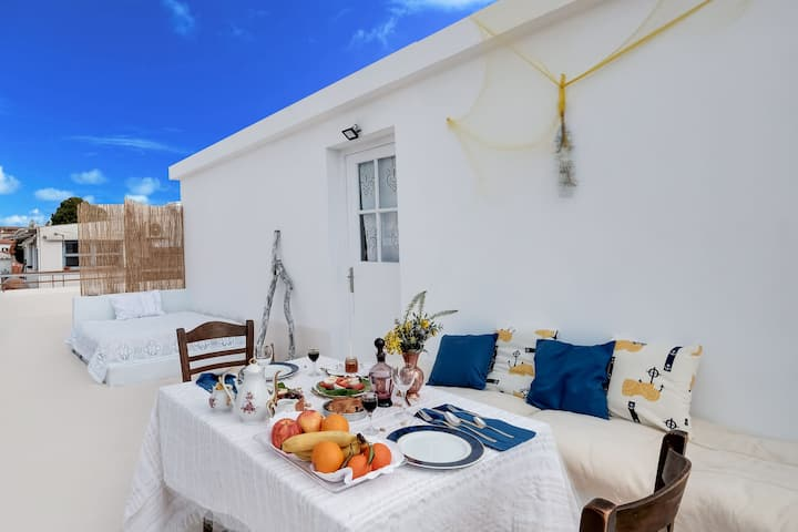 Astra Holiday Home in Aegina Island with gorgeous sunset views