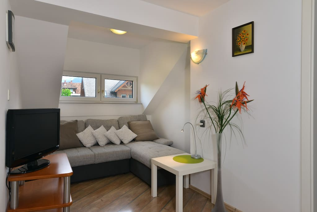 Jezerci Apartments - living room area