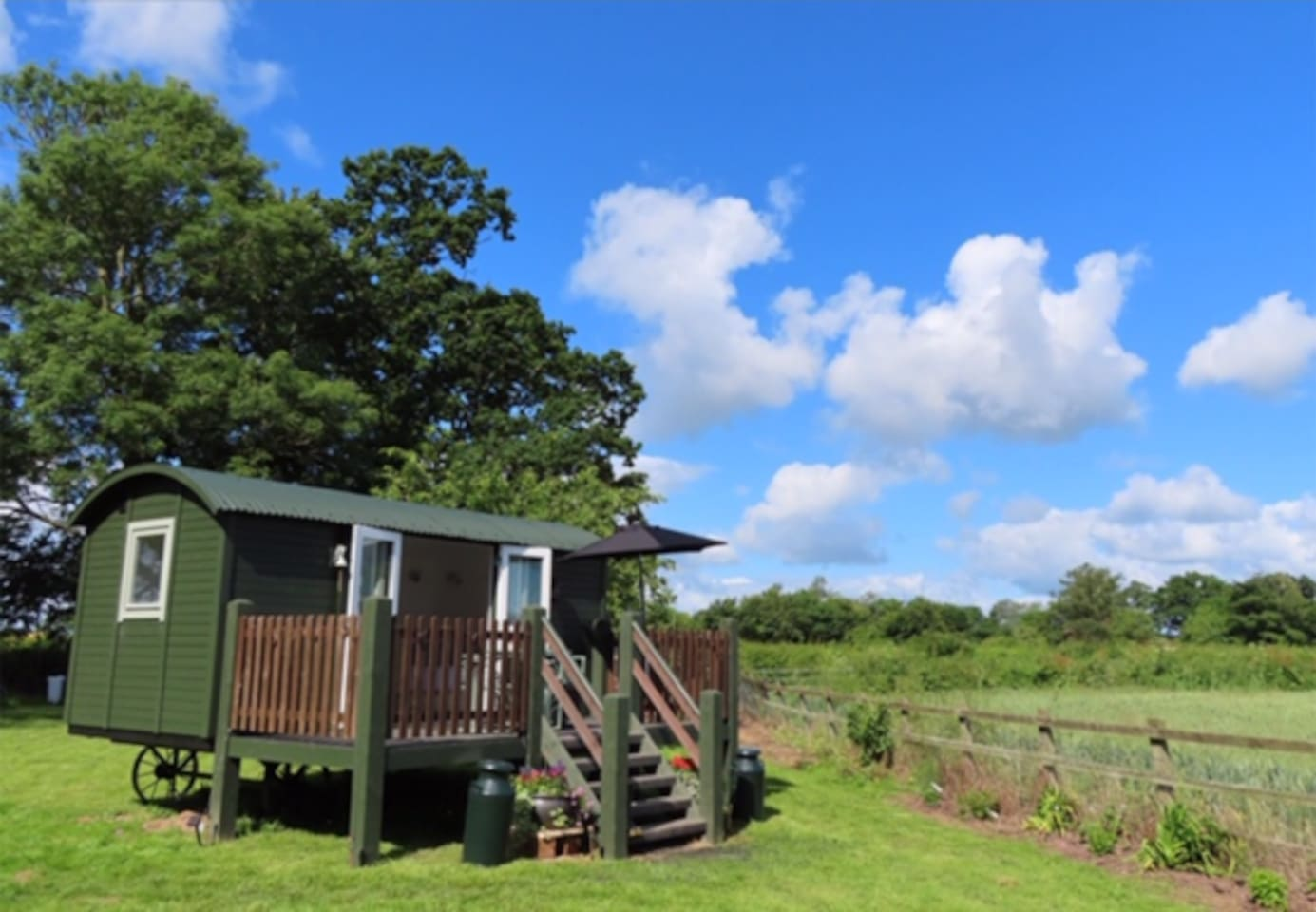 Quantock View Shepherd's Hut