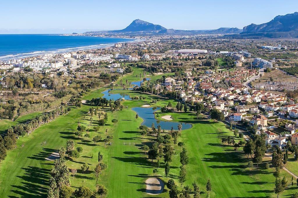 Uno de los mejores campos de golf de España