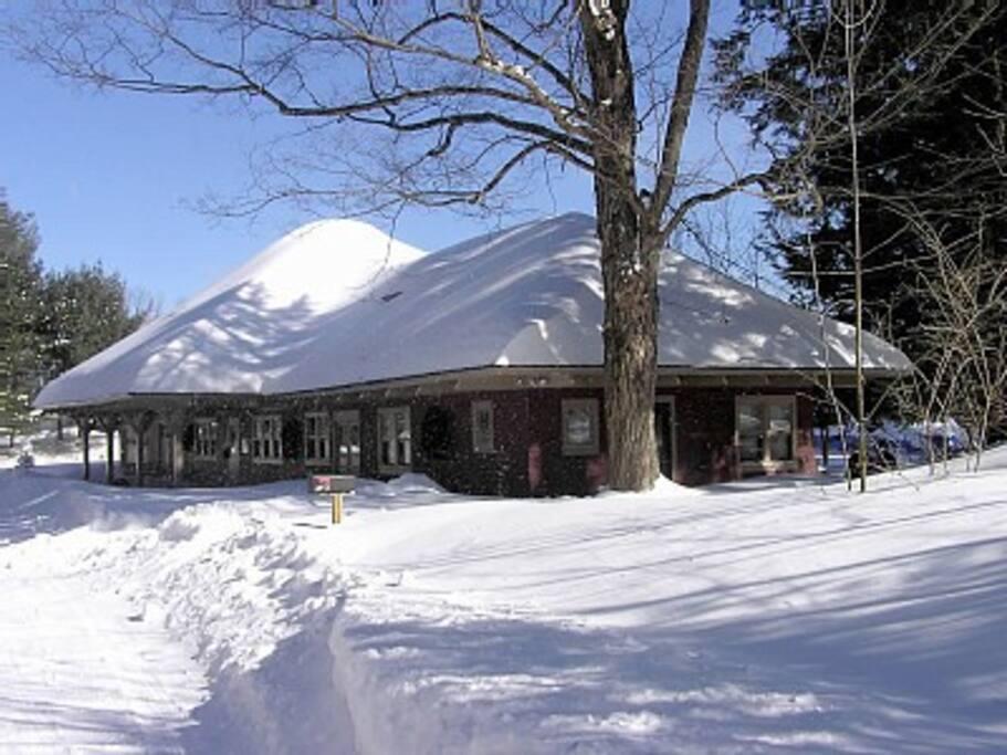 Station West side in Winter