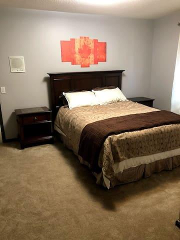 Bedroom 4 (double) upstairs, TV