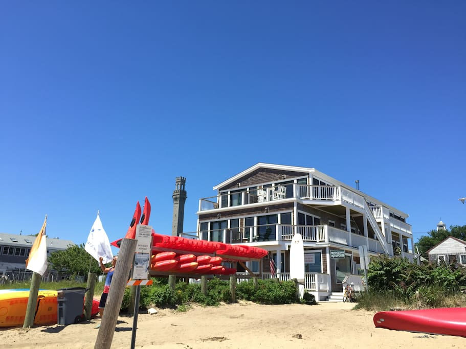 rent a paddle board  on-site. your unit is on the top floor