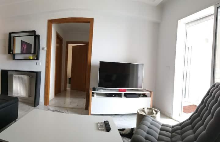Cozy Apartment Jardins de Carthage