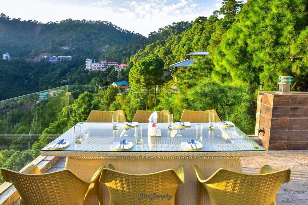 Open Air terrace Restaurat