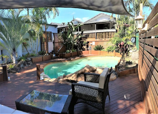 GRANNY FLAT WITH PRIVATE ENTRANCE -FAMILY RETREAT! - Helensvale - Hospedaria