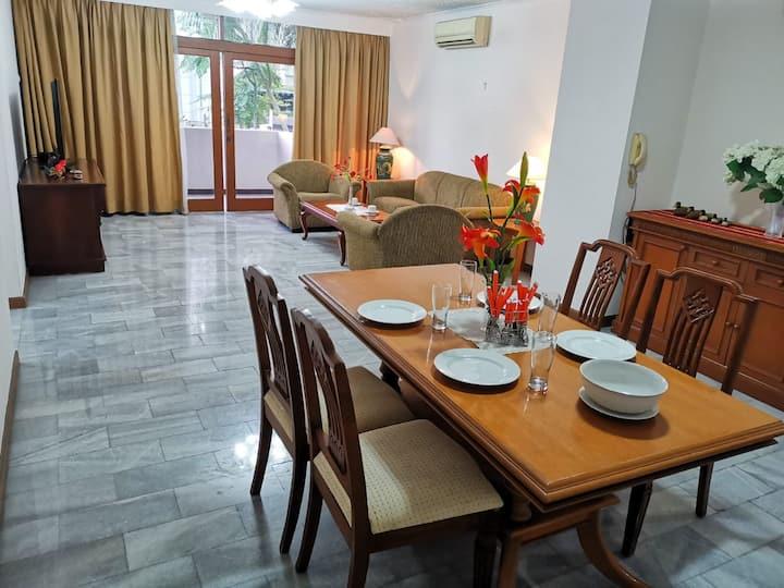 Peaceful 3BR Full Unit Apartment in Senopati