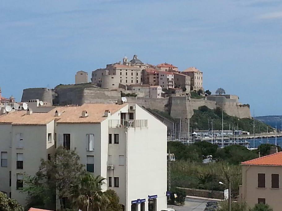Majestueuse citadelle de Calvi