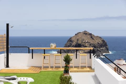 Room Nº4, Villa Slowly, Wifi, heated Pool and view