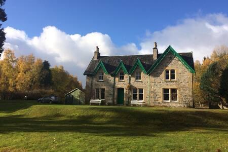 Stunning Scottish Highlands Family home