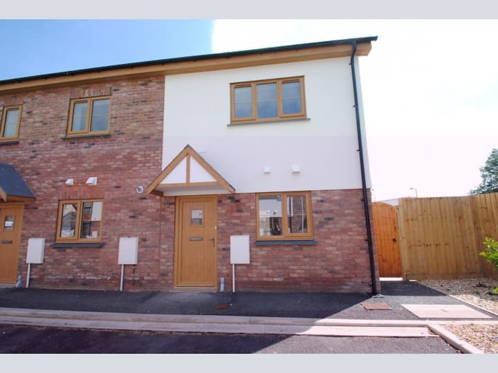 Beautiful modern home in Braunton village centre