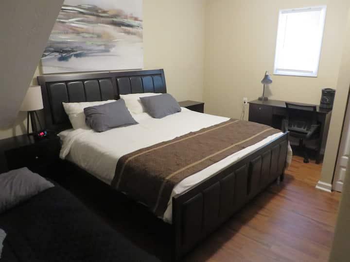 ❤Cozy 1-Bedrm w Kitchenette-netflix, Disney, ATL