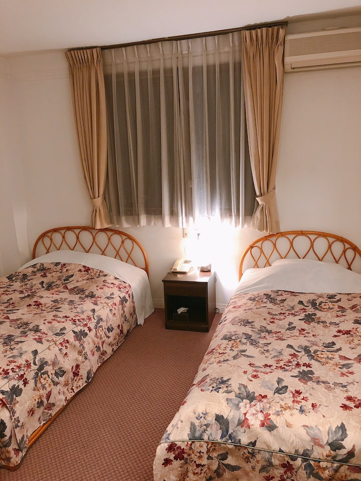 [Auberge-Mermaid] Twin Beds 2 meals included