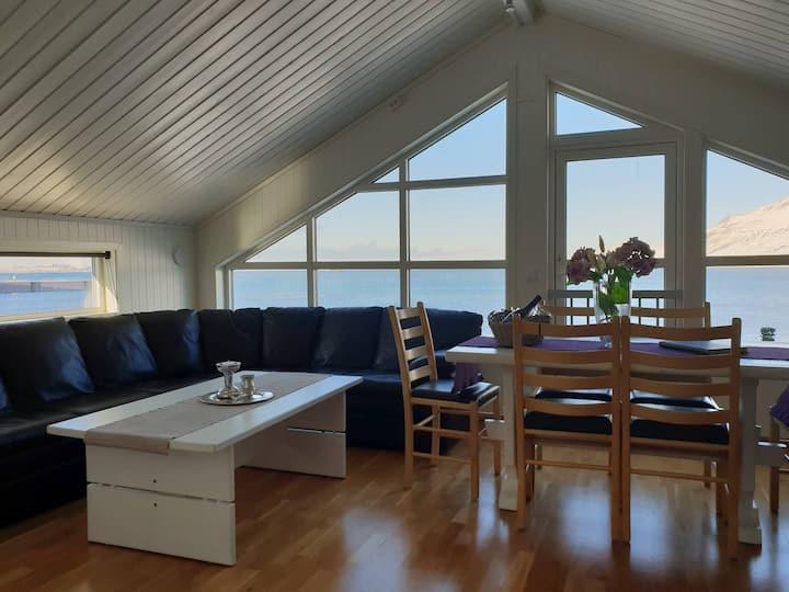See Lodge mit Panorama-Aussicht