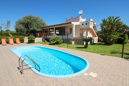 Property with private pool for a total relaxing... - Siracusa - Villa