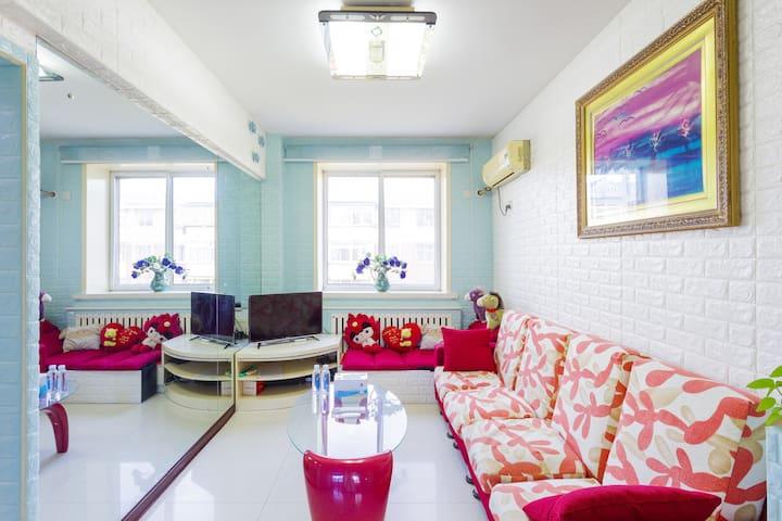 曹妃甸唐海油田西区有wifi,可做饭的温馨之家