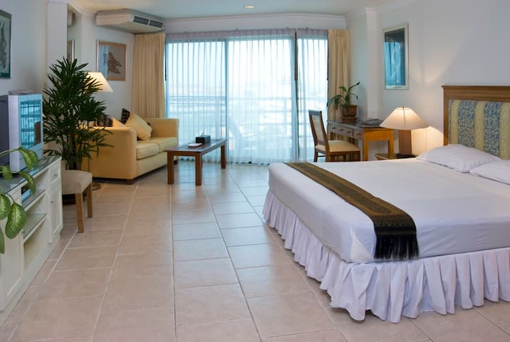 View Talay Studio Apartments in 2A&B GREAT ROOMS!!