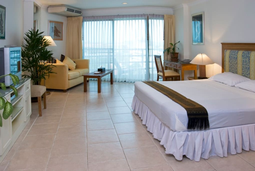View Talay 2A-8th Floor.Bedroom Area(41sqm)all rooms now with flat TV screens