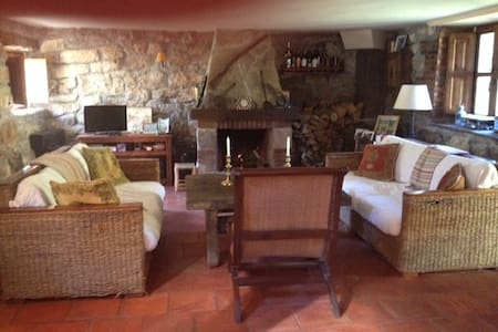 Cabaña pasiega refurbished with 4 bedrooms - Cantabria - Faház