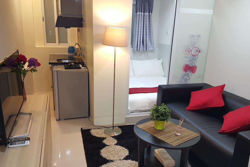Pretty apartment with everything you need to enjoy your holiday in hong kong