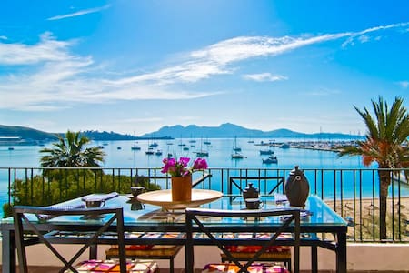 Spectacular views and location in the port - Port de Pollença - Wohnung