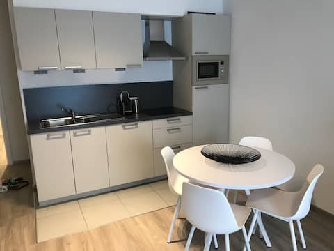 New flat, clean, close to public transport, calm