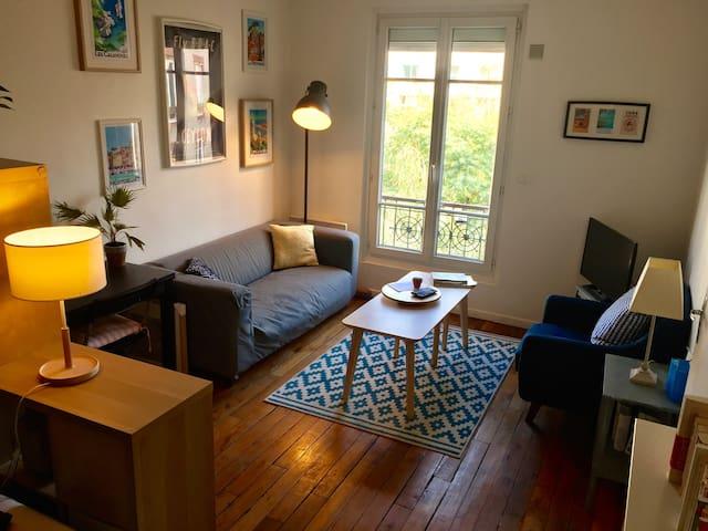 Cozy apartment near Eiffel Tower (3 mn walk)