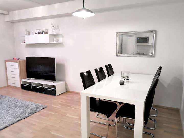 Modern, apartment, sauna (Airport, Kartanonkoski)
