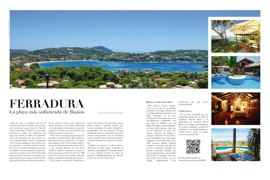 Our house at the Travel Magazine Editorial