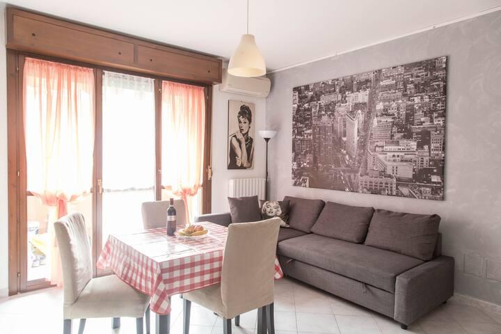 Appartamento Tiffany a due passi da Milano