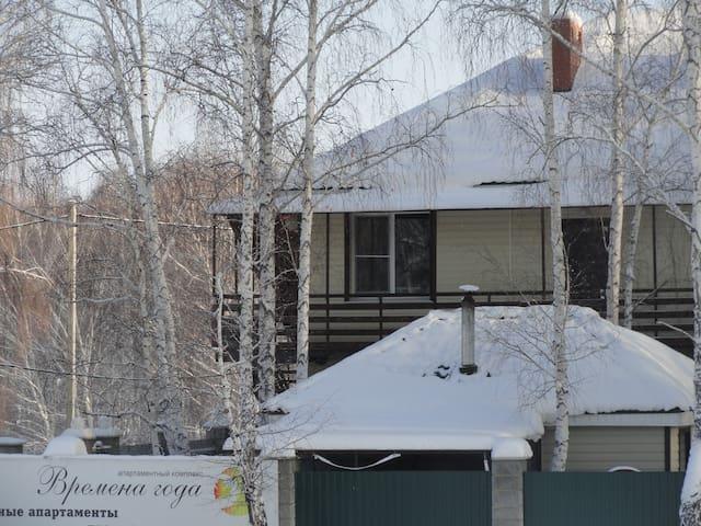Однокомнатные апартаменты люкс - с. Кусимово