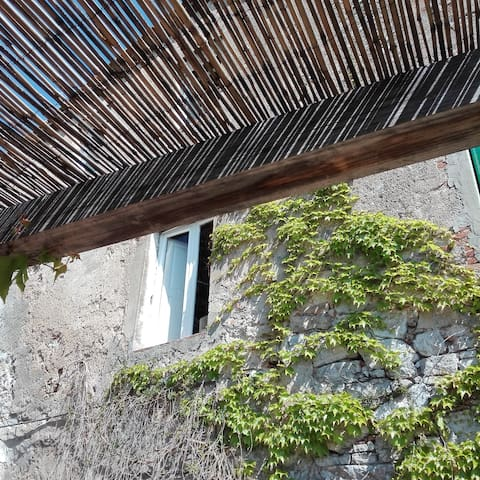 WIDE HOUSE BETWEEN THE LUCCA'S HILLS AND  THE SEA - Fibbiano - House