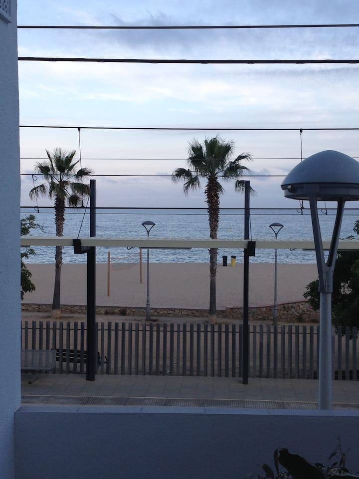 vistas espectaculares frente al mar