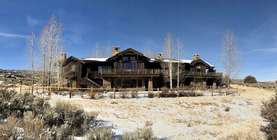 Colorado fishing home on Red Sky Ranch in Wolcott.