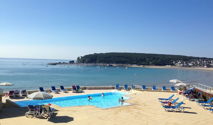 Cap Morgat - Big Holiday Apartment with sea view
