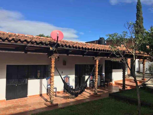 Acogedora casa de descanso cerca de Pátzcuaro