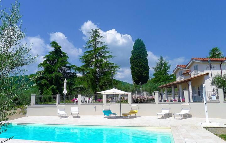 Rose del Chianti, amazing villa, wine and cooking