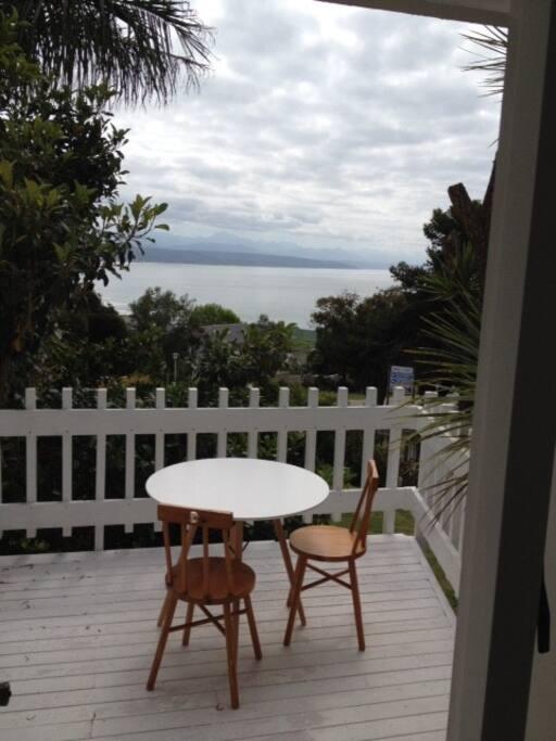 Master bedroom balcony upstairs