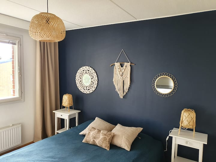 Rauhallinen kaksio - Peaceful two-room apartment