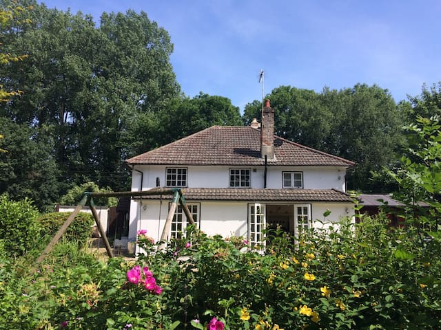 New Forest minutes from Ringwood-Detached House