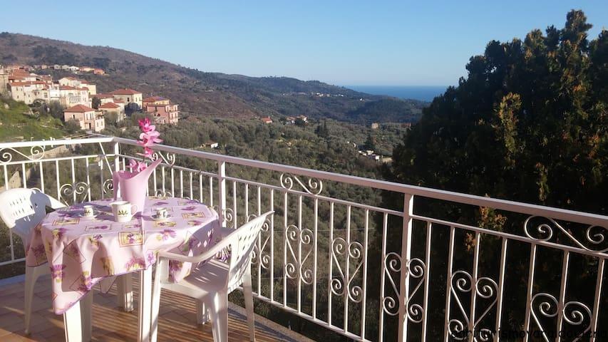 Appartamento luminoso vista mare - Villa Faraldi - Apartment
