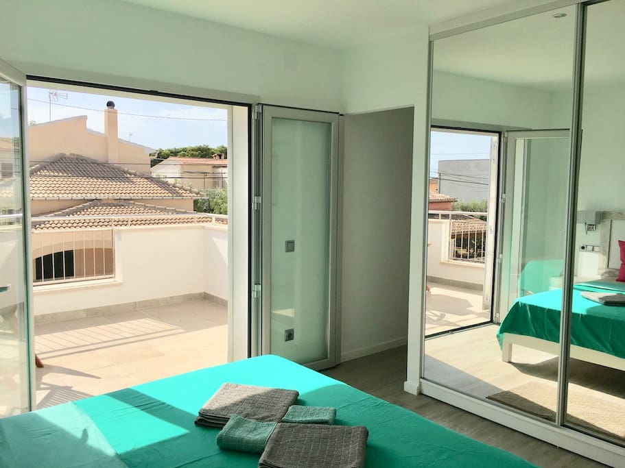 Suite mit privater Terrasse / Suite with private terrace