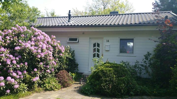 Idyllisch huisje aan goed viswater in Stavoren.